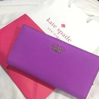 Authentic Kate Spade Street Stacy Wallet #FEB50