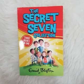the secret seven collection - enid blyton