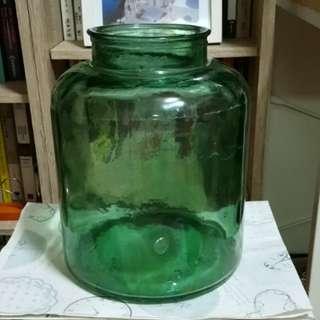 早期老玻璃罐