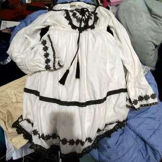 日系連身裙