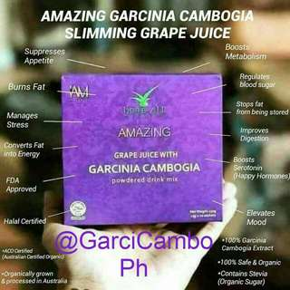 Amezing grapes juice with GARCINIA CAMBOGIA