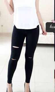 ripped jegging