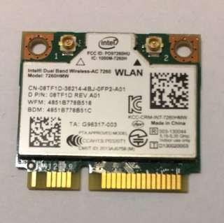 Intel Dual Band Wireless-AC 7260 2x2 Network adapter