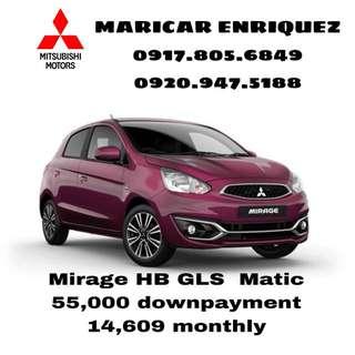 Mirage hatchback gls matic