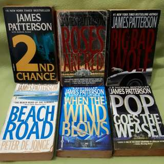 James Pattersons books