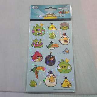 Legit Brand New Sealed Rovio Angry Birds Sticker Set