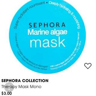 SEPHORA Therapy Mask Mono In Marine Algae 2 X 25g