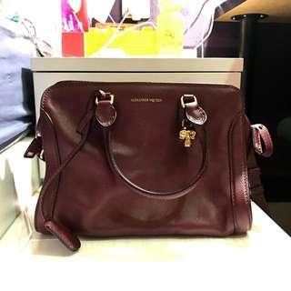 Alexander McQueen Padlock Small Zip Around Bag