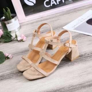 Heels BN strappy sandals