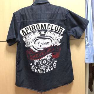 Apirom Club Denim Shirt