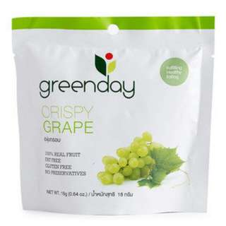 Snack thailand greenday crispy
