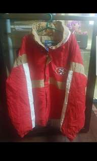 Jacket Hooded SF 49ers by Starter