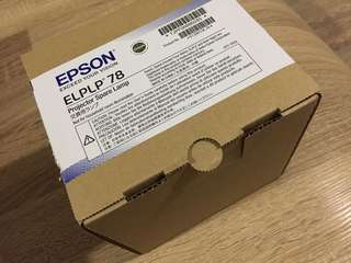 Epson Projector Spare Lamp ELPLP78