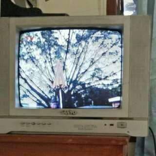 TV tabung 14 in merk Sanyo