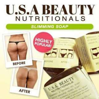 Effective !  KBrother Authentic 2 in 1 . Slimming & Firming Magic Soap !