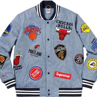 Supreme NBA Denim Jacket