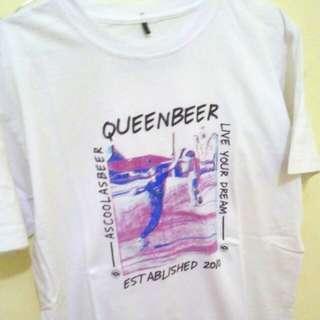 T-SHIRT  QUEENBEER (not flava supreme off white bape)