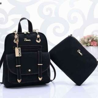 Bonia Backpack 6779 2in1  Gred AA