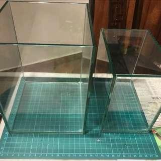 Fish Tank 15x15x15cm & 10x15cm