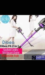 Dibea F6 2In 1 Handheld Cordless Stick Vacuum Cleaner