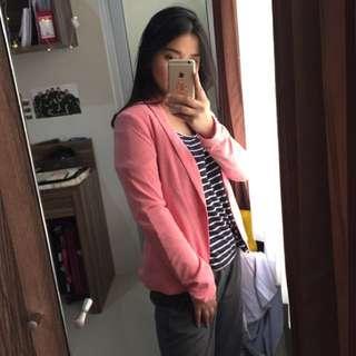 Bershka Pink Blazer NEW