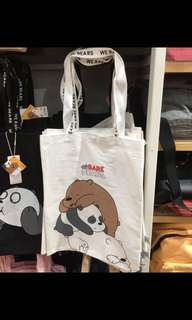 *We Bare Bears Canvas Tote*