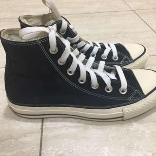 Converse Chuck Taylor All Star '70 復刻鞋款 黑色高筒