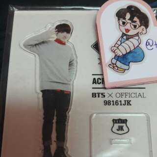 [PRICE REDUCED] 2nd Muster Acrylic Stand (Rare)