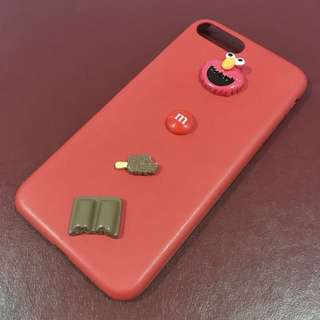 New iPhone 7Plus/7PlusRed 3D Sesame Street Case