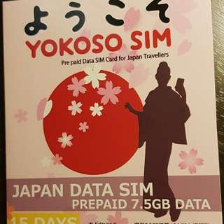 Japan Travel Prepaid Data Sim Card