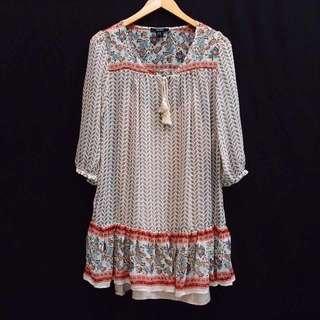 Forever21 Midi Dress Floral Boho