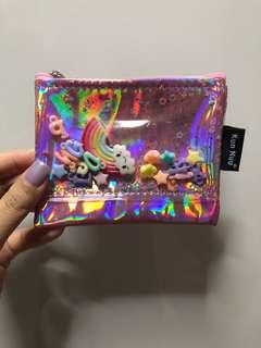 Pink shiny cute purse brand new