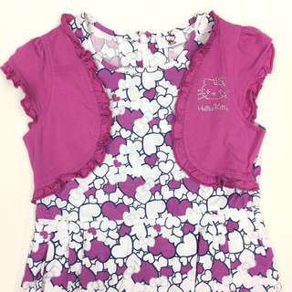 Hello Kitty Dress with Bolero