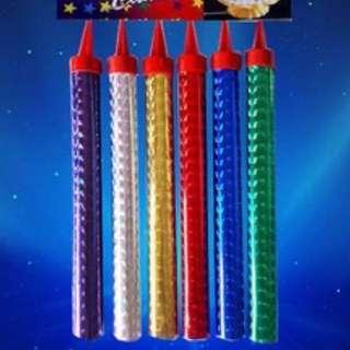Sparkler Candles LONG (pls WhatsApp)