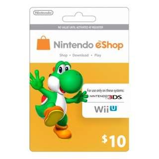 Nintendo E-Shop US$10