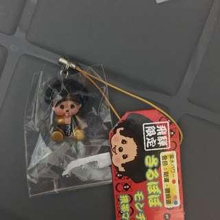 日本🇯🇵飛弾限定 Monchhichi電話繩