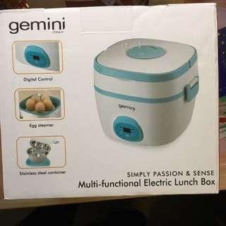 gemini 多用途便攜電子蒸煮飯盒