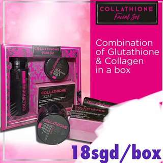 Collagen and Glutathione Facial Set