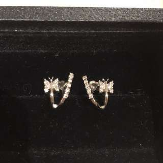 PEOPLES (Canada) diamond earrings