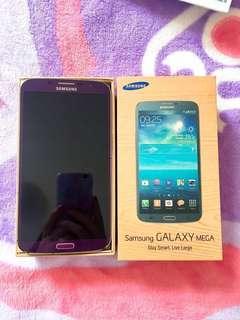 Samsung Galaxy Mega with box