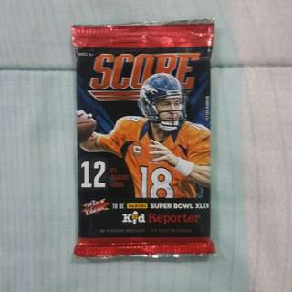 Legit BNS 1 Pack Of Panini NFL Score 2014 Cards 12 Pieces