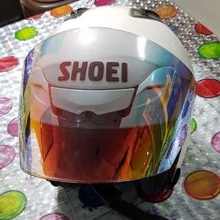 SHOEI Helmet JF3 Pearl White