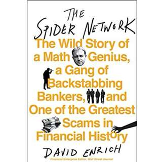 Ebook- 'The Spider Network' by David Enrich
