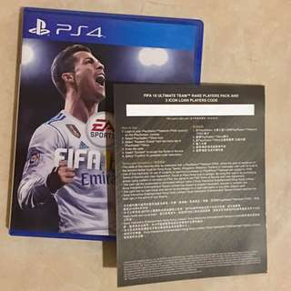 BD FIFA 18 PS4 UTR Players Pack Lengkap