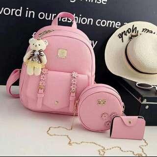 3in1 korean backpack