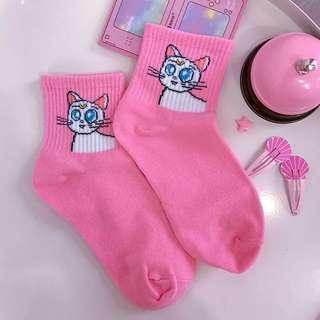 🌙 Artemis pink socks sailor moon