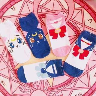 🌙 Luna sailor moon socks