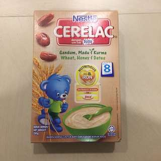 Nestle Cerelac wheat, honey, dates