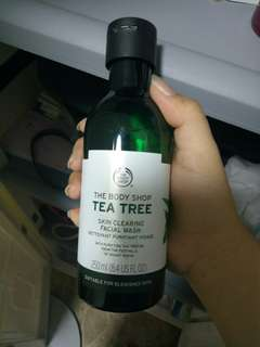 The Body Shop Tea Tree Products