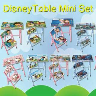 Disney table mini set